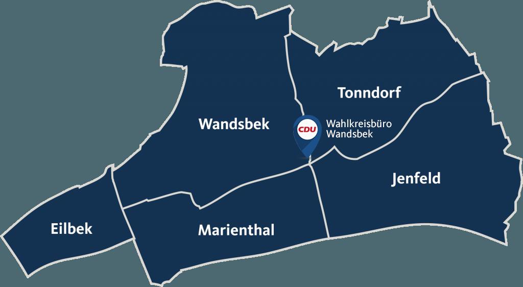 Wahlkreis (11) Wandsbek