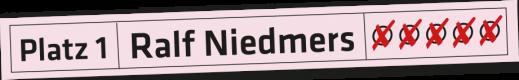 Ralf-Niedmers-Wahlkreisliste