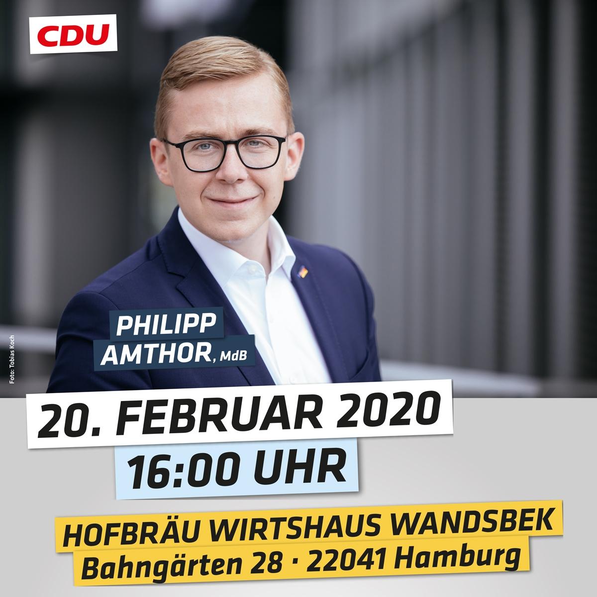 Philipp Amthor, MdB